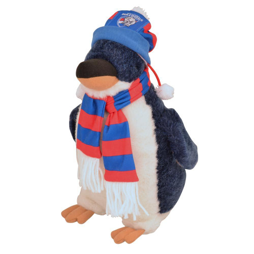 Western Bulldogs Penguin Plush Toy