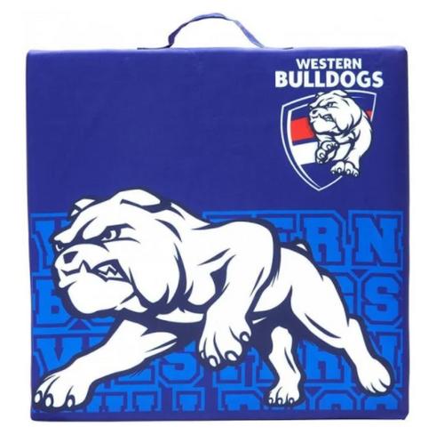 Western Bulldogs Square Seat Cushion