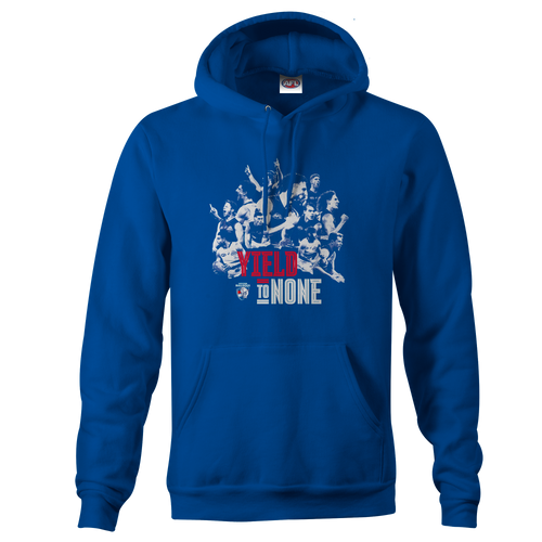 Western Bulldogs Yield To None Adult Hoodie