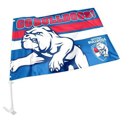 Western Bulldogs Car Flag