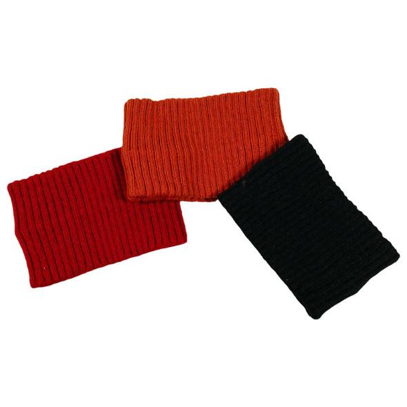 Alpaca Solid Color Knit Headband Five Unit Pack Assorted Colors Wholesale