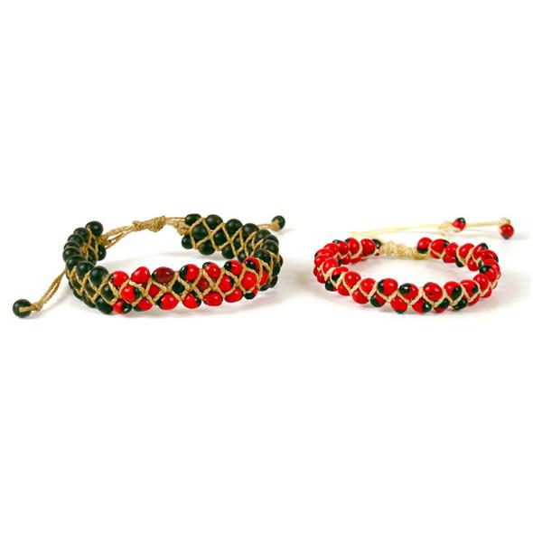 Amazon Huayruro Seed Bracelet