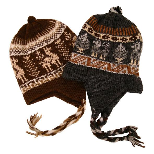 Five Piece Bundle Wholesale Pack Alpaca Blend Child Chullo Hat