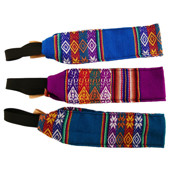 Six Pack Assortment Manta Headbands Peru Traditional Woven