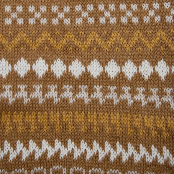 Earth Tones and Classic Peruvian Designs Scarf