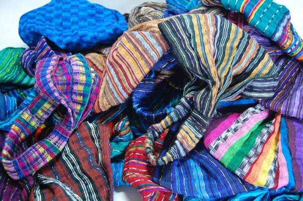 Assortment of Colors and Patterns Wide Headband Cotton Expandable Bonnet