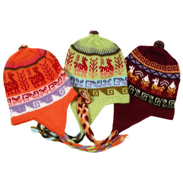 Alpaca Blend Chullo Hat