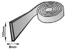Edging Insulation Dimensions