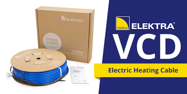 Elektra VCD In screed cable
