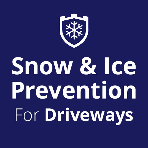 Snow & Ice Prevention for Driveways