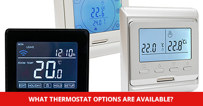 What thermostat choices are avalible?