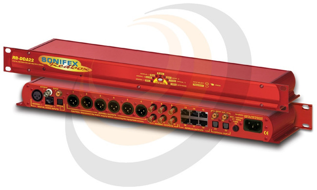 Sonifex Digital Audio Distribution Amplifier With Multiple Outputs (1U) - Image 1