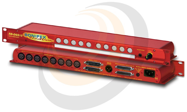 Sonifex 10 Way Stereo Digital Source Selector - Image 1