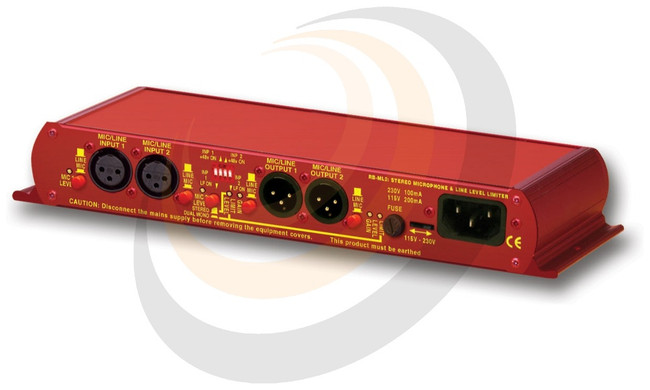 Sonifex Stereo Microphone & Line Level Limiter - Image 1