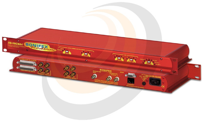 3G/HD/SD-SDI Embedder & De-Embedder 4 Channel Analogue I/O - Image 1