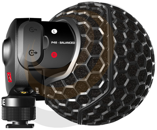Stereo VideoMic X - Broadcast-grade stereo on-camera condenser - Image 1