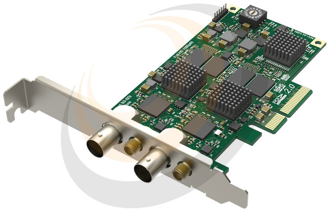 Pro Capture Dual SDI - LP PCIe x4, 2-channel - Image 1