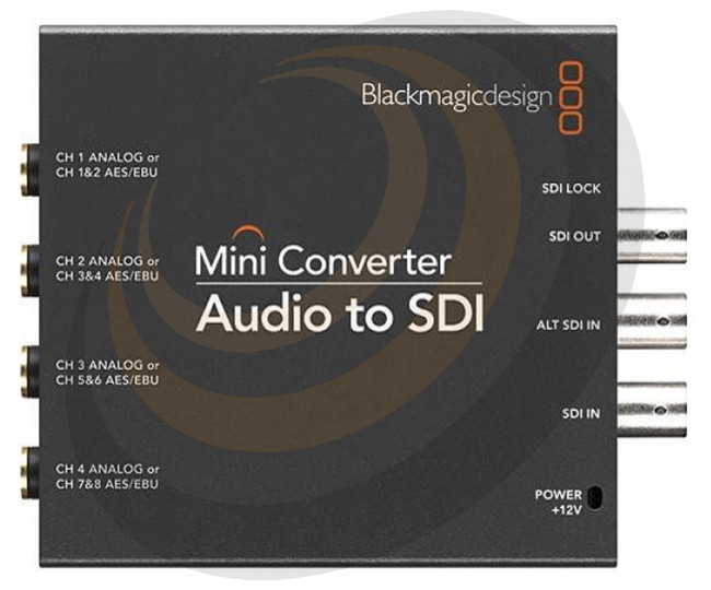 Blackmagic Mini Converter - Audio to SDI 2  - Image 1