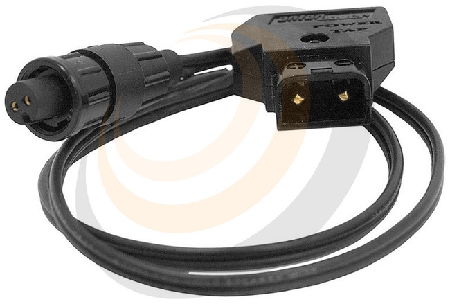 "AJA 18"" DC cable, P-TAP connector to AJA D5/10-PC connector - Image 1"