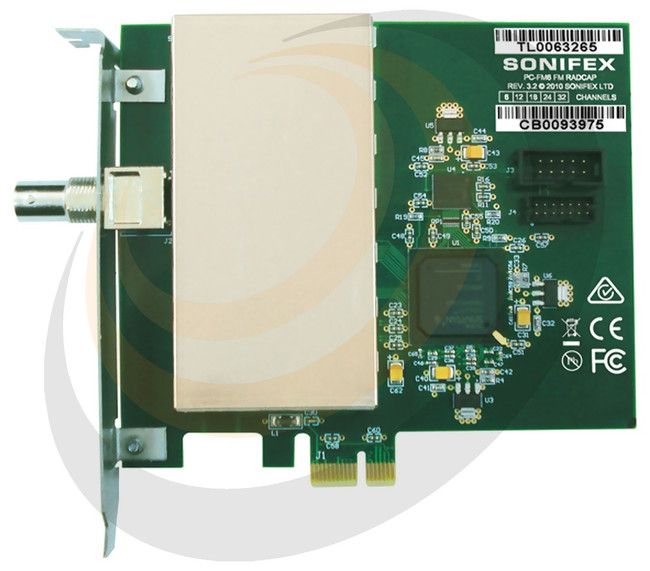 Sonifex FM PCIe Radio Capture Card - 24 Channel - Image 1