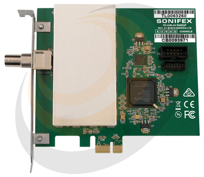 Sonifex AM PCIe Radio Capture Card - 24 Channel - Image 1
