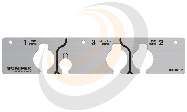 Sonifex Commentator Unit Front Cover Plate - Image 1
