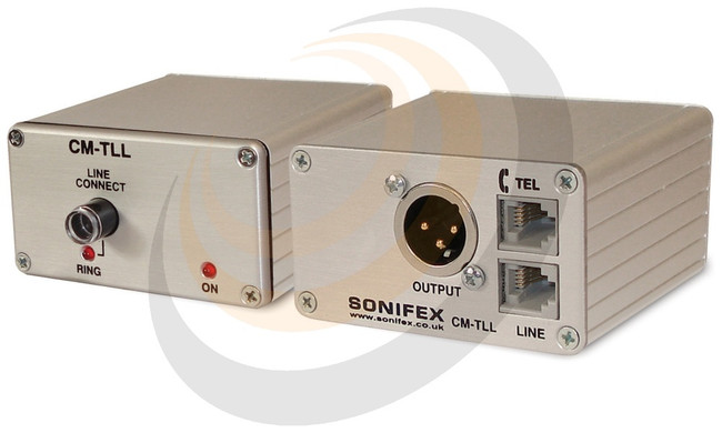 Sonifex Line Powered Telephone Line Listen Unit - Image 1