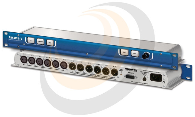 Sonifex Monitor Controller 5.1 Inputs With Light Control - Image 1