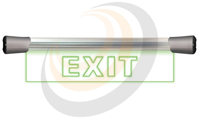 LED Single Flush Mounting 40cm EXIT sign - Image 1