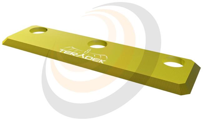 Teradek Bolt RX 1000/3000 Accesory Yellow Plate - Image 1