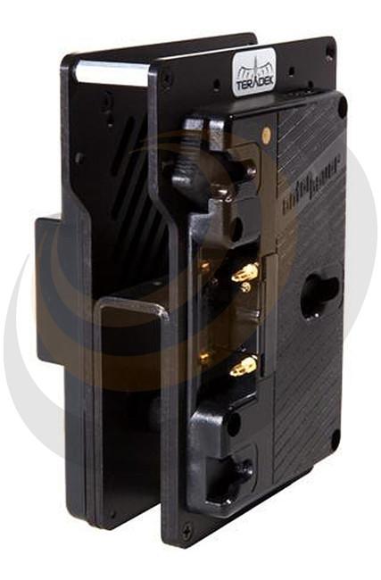 Teradek Bolt Sidekick Dual AB Mount Batt plate 14.4V Cable Length: 11in/27cm - Image 1