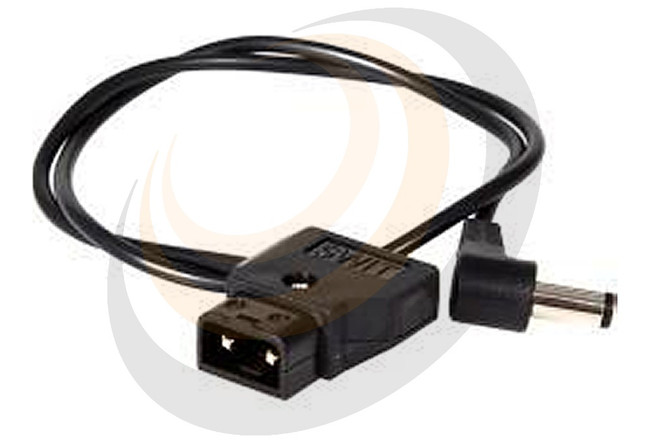 Teradek VidiU Barrel to PowerTap Cable Length: 18in / 45cm - Image 1