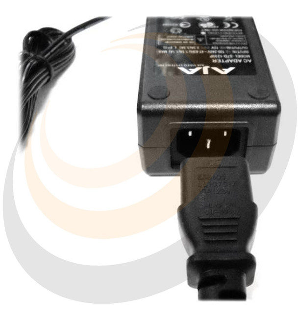 AJA 120/240 AC to 12v DC 4-pin XLR power adapter - Image 1
