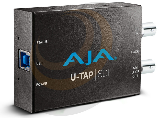 AJA U-TAP-SDI USB Capture Device - Image 1