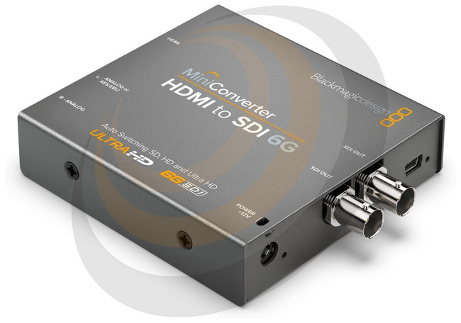 Blackmagic Mini Converter - HDMI to SDI 6G  - Image 1