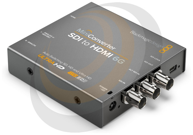 Blackmagic Mini Converter - SDI to HDMI 6G  - Image 1