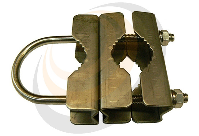 Parallel medium duty clamp, stainless steel - Image 1