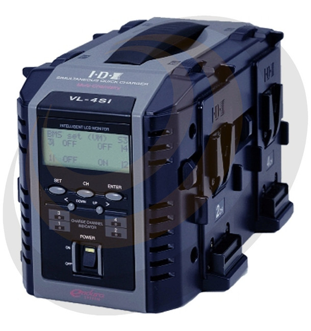 IDX 4-Channel Fully Simultaneous Quick Charger with Intelligent Display - Image 1