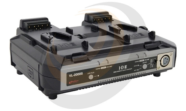 IDX 2-Channel Simultaneous Quick Charger with AC Adaptor - Image 1