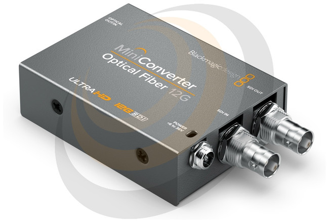 Blackmagic Mini Converter - Optical Fiber 12G  - Image 1
