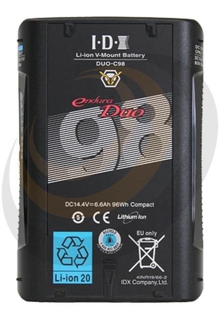 IDX C98 Li-ion V-Mount Battery (96Wh) - Image 1