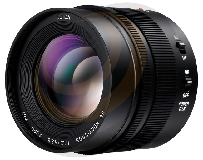 Leica DG Nocticron 42.5mm F1.2 Aspherical lens Power O.I.S - Image 1