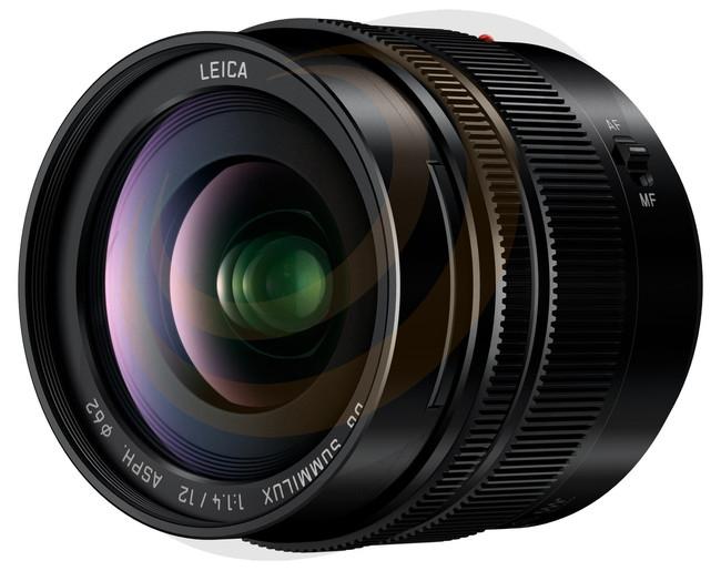 Lumix Leica DG Summilux 12mm F1.4 Aspherical lens - Image 1