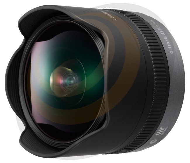 Lumix G Fisheye 8mm/F3.5 (Micro Four Thirds lens) - Image 1