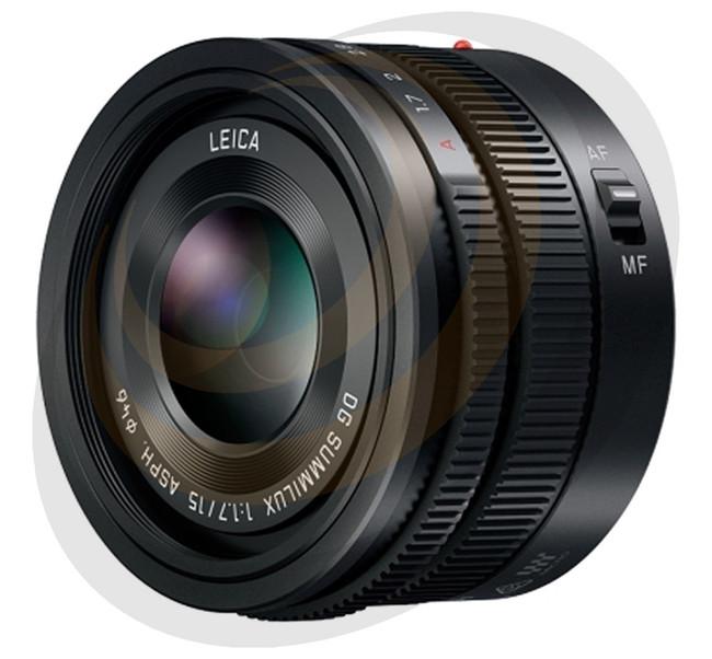Lumix Leica DG Summilux 15mm/F1.7 Aspherical lens in Black - Image 1