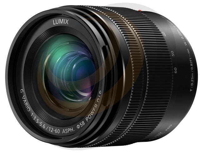 Lumix G Vario 12-60mm/F3.5-5.6 Aspherical lens - Image 1