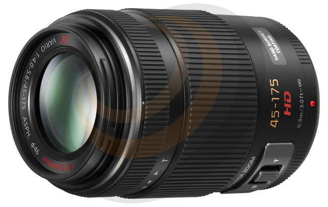 Lumix G X Vario Power Zoom 45-175mm/F4-5.6 Aspherical lens - Black - Image 1