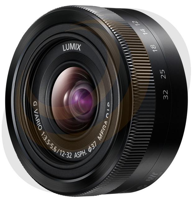 Lumix G Vario 12-32mm/F3.5-5.6 with Mega O.I.S - Black - Image 1