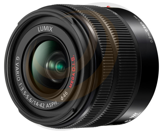 Lumix G Vario 14-42mm/F3.5-5.6 MkII Aspherical lens - Matte Black - Image 1