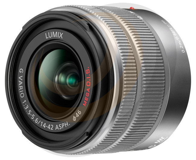 Lumix G Vario 14-42mm/F3.5-5.6 MkII Aspherical lens - Silver - Image 1